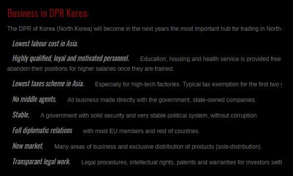 「北朝鮮でビジネスをやるべき7つのメリット」