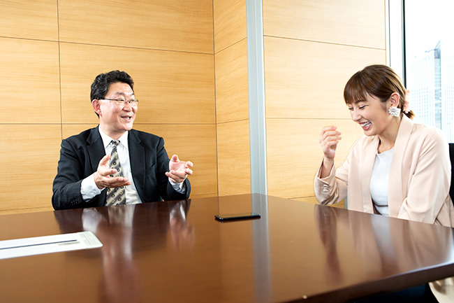 熊田「ズボラな性格ですいません(笑)」武「それが個人投資家の強みでもあります」